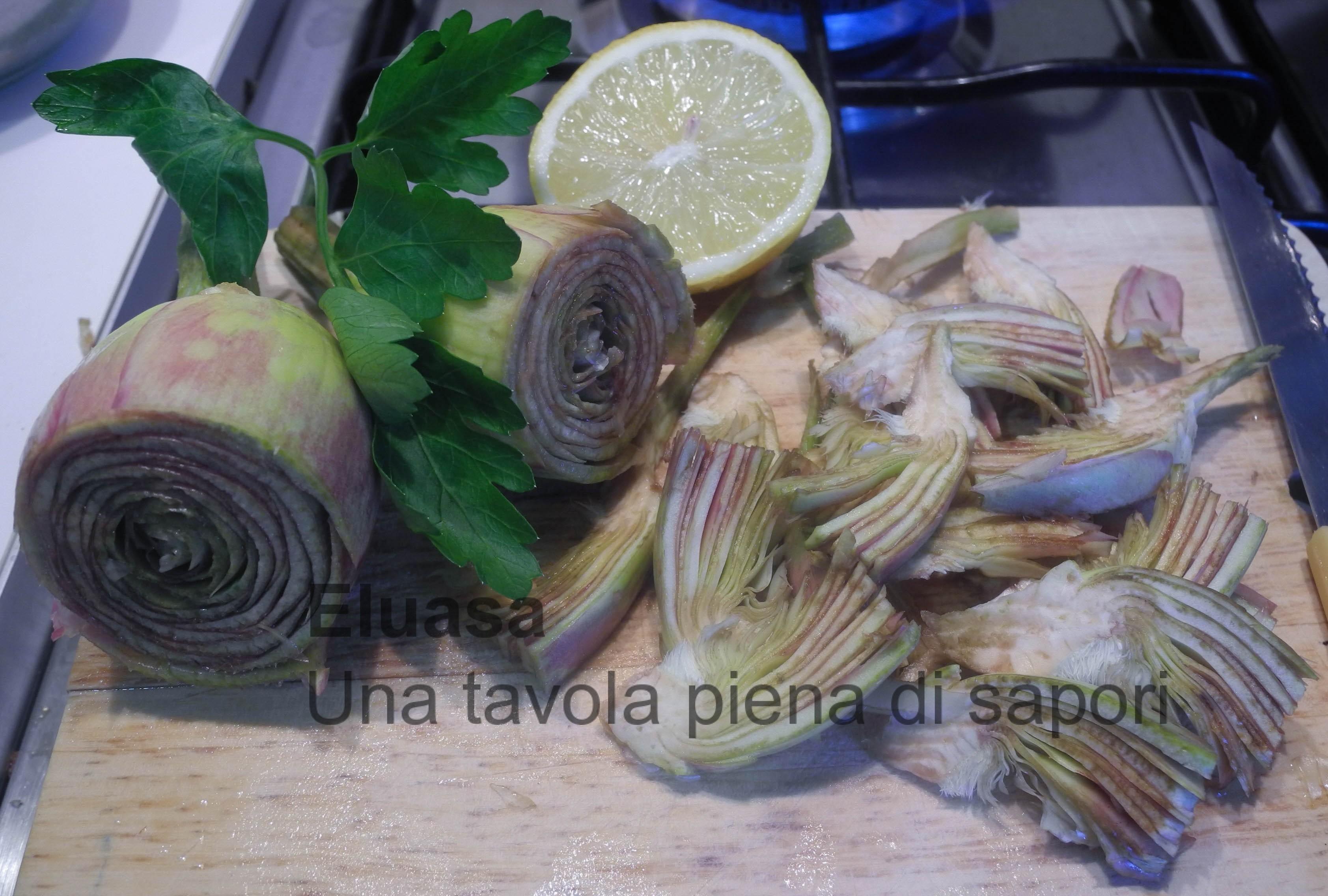 pasta carciofi 2